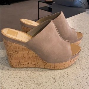 Dolce Vita Suede Slide Wedge Brand New